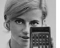 Woman with the HP-35 Calculator