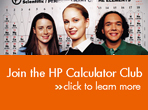 Join the HP Calculator Club