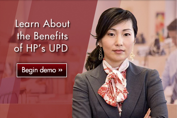 Learn About the Benefits of HP´s UPD