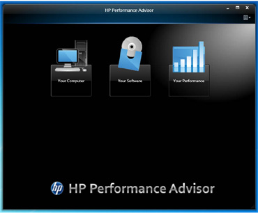 HP Performance Advisor